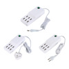 Multi Function 6 Ports USB AC Adapter Travel Wall Charger with switch