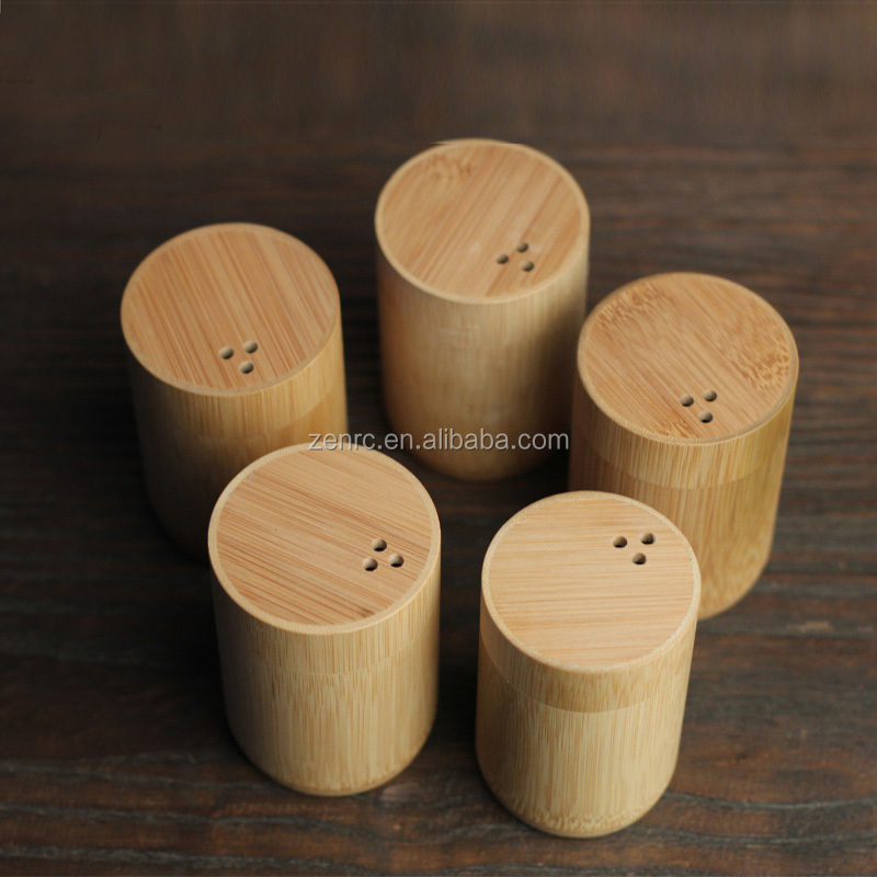 Original Wood Tea Collects Natural Bamboo Toothpick Holder in Retro Style