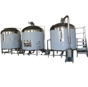 High quality 5000l large beer brewery equipment with steam heating