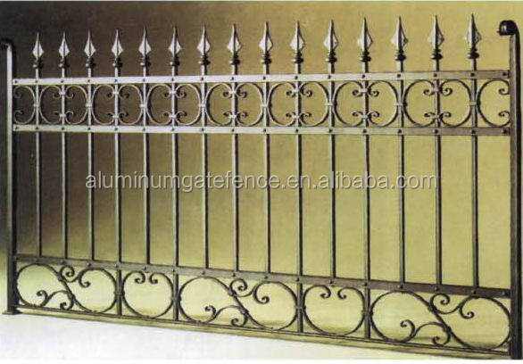Wholesale Cheap Wrought Iron Fence Panels For Sale