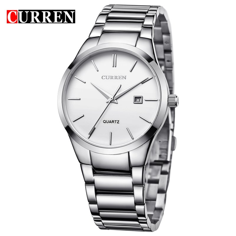 Top luxury brand curren 8106 watches men hot sales japan movement stainless steel watches mens fashion designer curren men фото