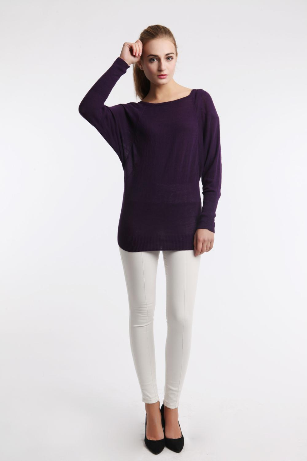5spring sweaters for Women Elegant Batwing Lace Hollow ... - photo#30