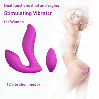 Wholesale CE RoHS Sex Toy Prostate Massager 100% Waterproof Remote Control Electronic Silicone Anal Plug Vibrator for Men women