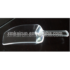 Plastic Ice Scoop,Heavy-duty Ice Scoop, Clear Ice Scoop