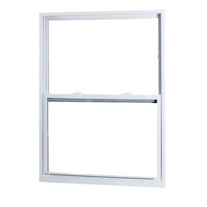 White Color Good for Increasing Light and Ventilation UPVC Hung Window