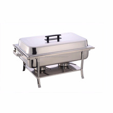 9L economic stainless steel chafing dish chafer for restaurant