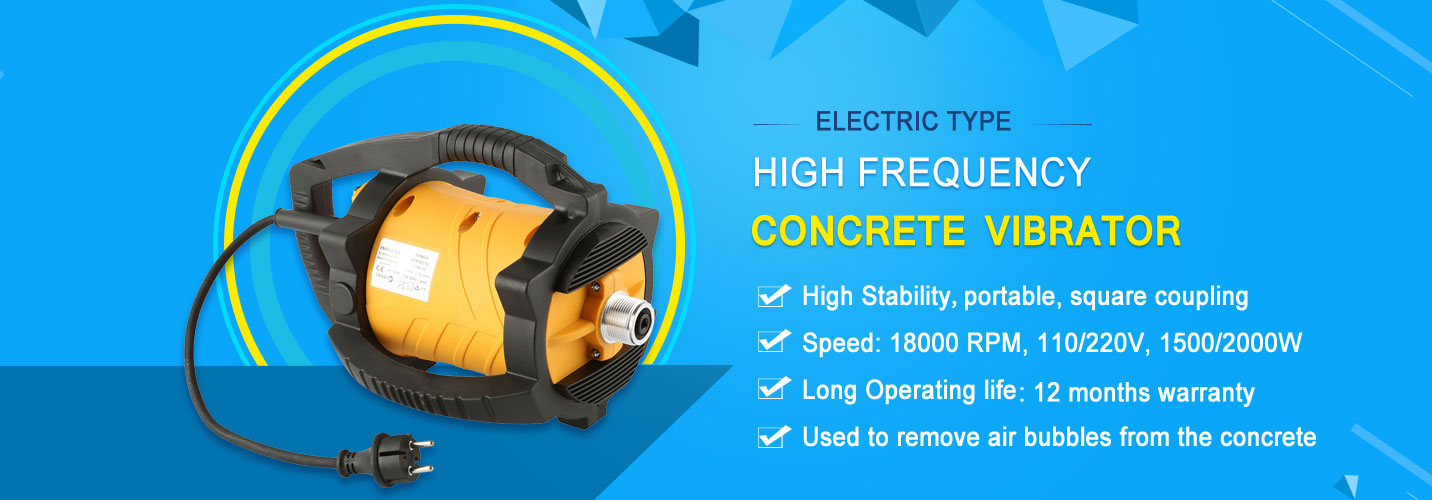 High Quality High Vibrating Frequency Concrete Vibrator
