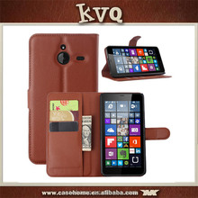 for nokia lumia 1320 wallet stand flip leather case high quality factory's price