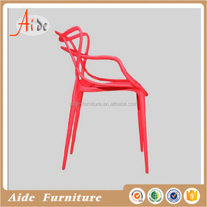 Modern design plastic hollow chairs for events