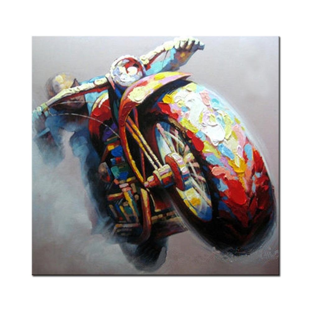 Venta al por mayor del arte moderno lienzo de pintura de - Pintura al aceite ...