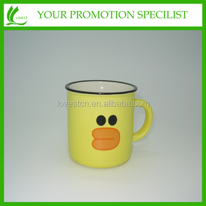 enamelled cup like ceramic Mugs