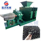 Factory direct sale price roller press charcoal powder coal briquette making machine price
