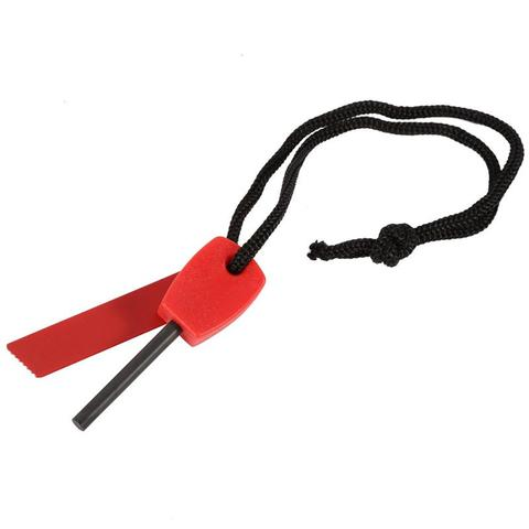 Small Eco Friendly Fast Fire Starter Match Lighter Flint Striker For Camping Hiking Products, Green / orange / red