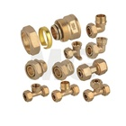 MG-G 1 2 brass elbow pex pipe fitting gas hose adapt connector tube fitting pipe line quick connect compression fittings