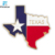 "2"" Texas Flag Lapel Pin 100% Factory Store Flag Pin Badges"