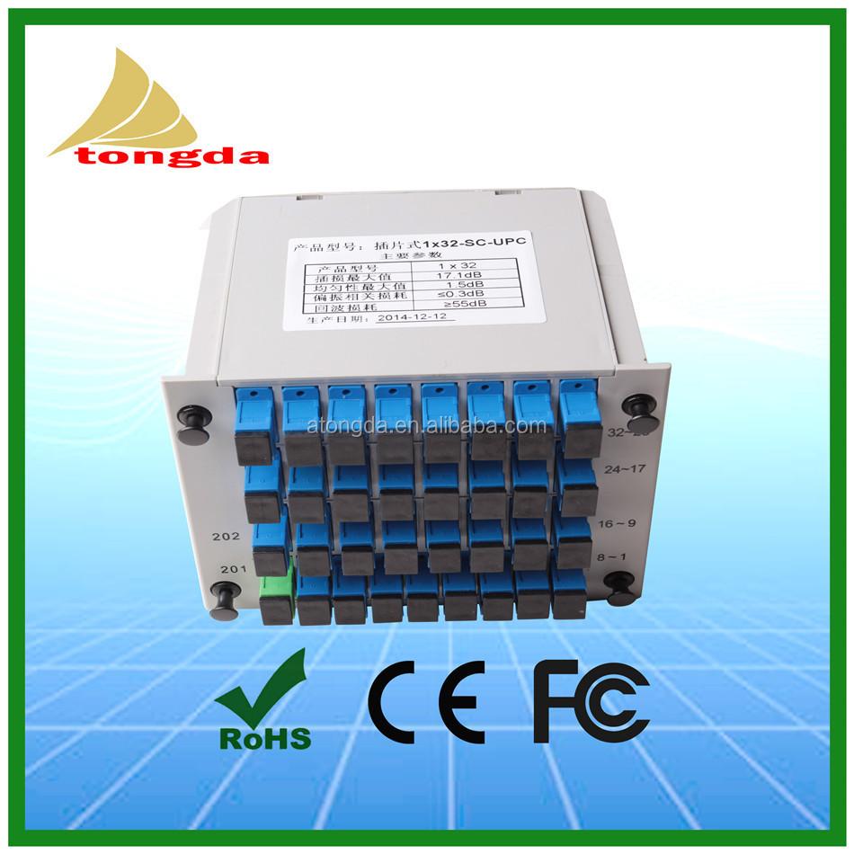 Gpon Olt Onu Ftth 132 Fiber Optical Plc Splitter Sc Upc Apc With 1x8 Planar Lightwave Circuits Ftthcatv Insert Type Buy Oltftth Splitteroptical Product On