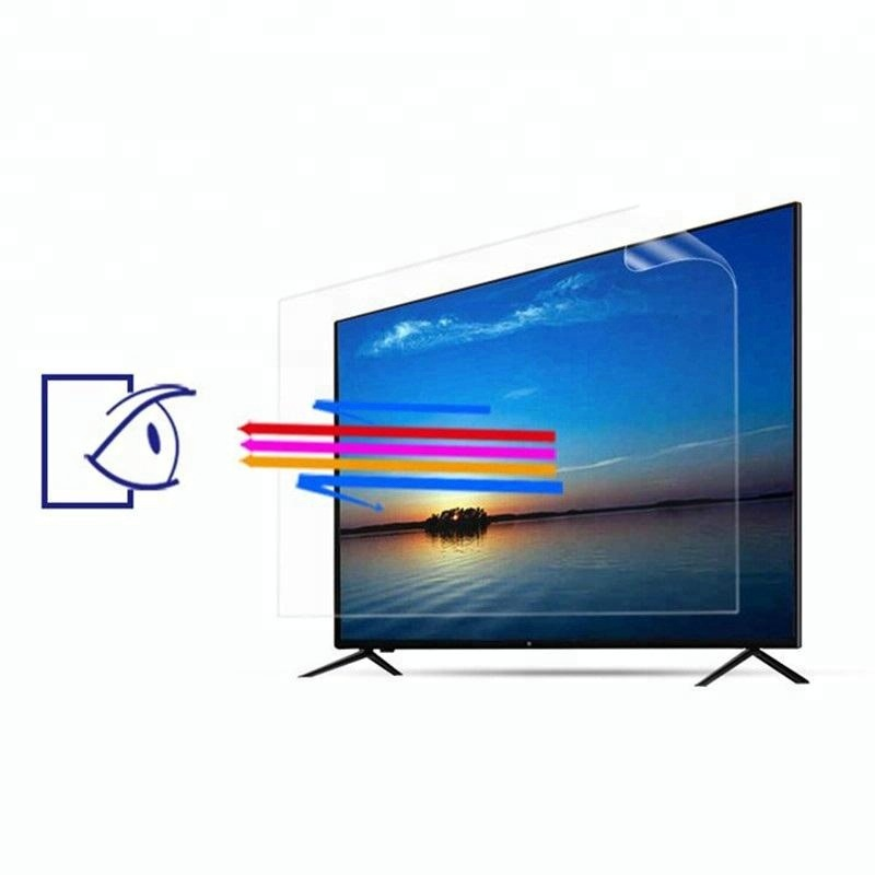 Anti-explosion PET Anti-blue light for any size TV/LCD screen protector