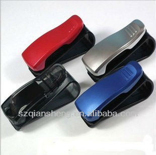 plastic eyeglass clip,Glasses Card Pen Holder Clip