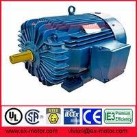 NEMA design B three phase 405T frame 4 pole 100 hp electric motor