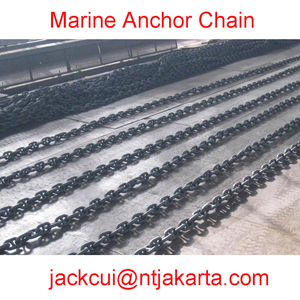 High strong Industrial chain for ship / used parts of anchor chain