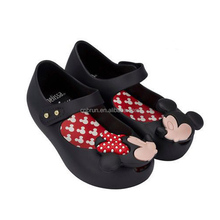Mini Melissa Sweet Flats baby jelly shoes in Pink