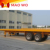 2 axle best price 20 ton small flatbed truck light trailer