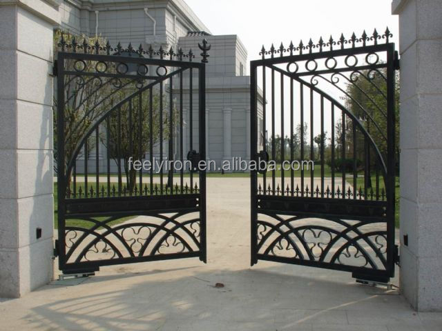 Steel Main Gate Design