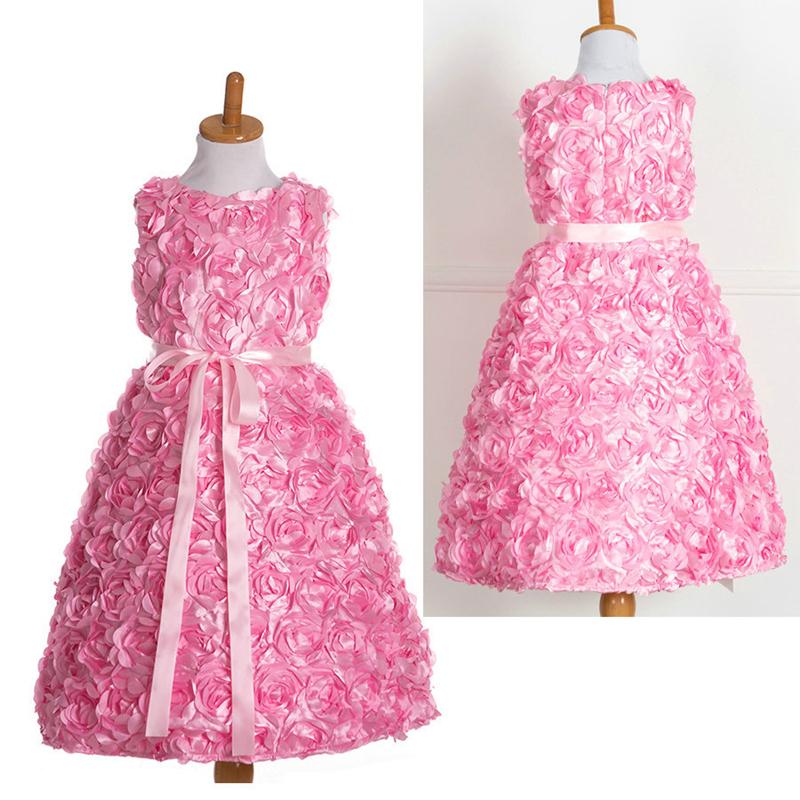 Venta al por mayor vestidos de fiesta de niña grandes-Compre online ...