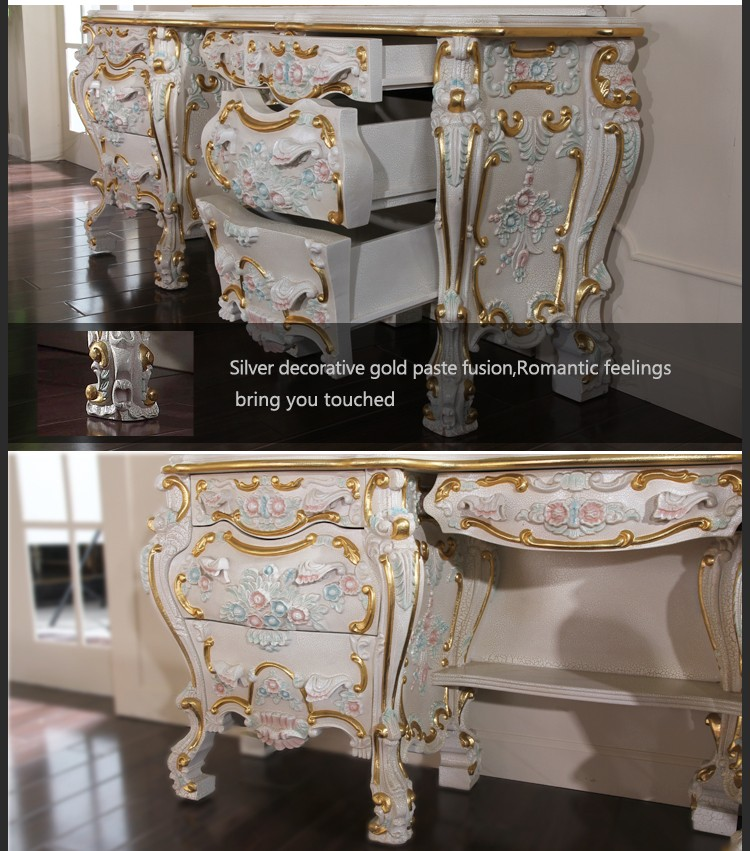 perfect antique meubles coiffeuse italie style de luxe classique meubles de maison royale. Black Bedroom Furniture Sets. Home Design Ideas