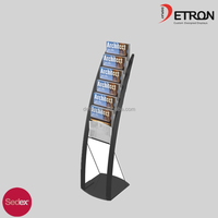 Office Magazine Transparent Acrylic Display & newspaper acrylic display