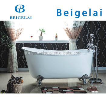 Swedish Slipper Roll Rim Cast Iron Claw Foot Bath Bathtub Of Bgl 70