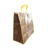 Cheap foldable pp non woven convenient fabric gift bags
