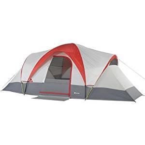Ozark Trail Weatherbuster 18' x 10' Dome Tent, Sleeps 9