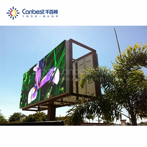 Canbest P5 P6 P8 Big Advertising Full Color Outdoor Double Faces LED Display Screen,LED Signs,LED Billboard