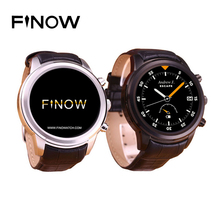 Finow X5 Smart Watch Android 4.4 AMOLED 1.4″ Display 3G WiFi GPS Dual Bluetooth SmartWatch Clock Phone for iOS Android Phone