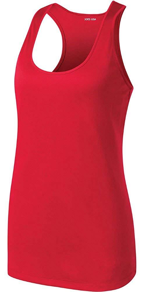 04313e89ea Joe s USA Racerback Tank Tops for Women Moisture Wicking Workout Shirts  XS-4XL