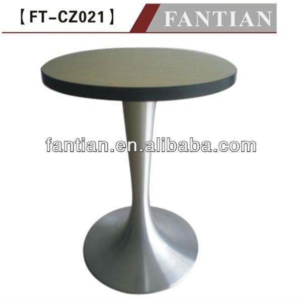base de metal caliente de las ventas mesa redonda de comedor de ...