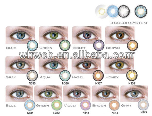 New Arrival 3 Tone Colour Contact Lenses Contact Lens Crazy Zombie ...
