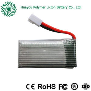 RC lipo cells 600mAh li-ion battery 3.7v 650mah 852540