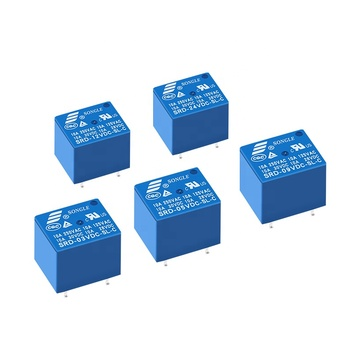 High quality relay 10A 250VAC 5PIN SRD-03VDC-SL-C