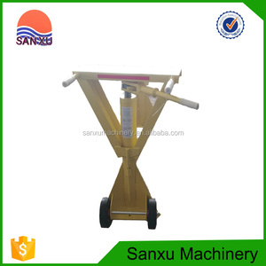 Adjustable Higher Portable Container Jack Stand