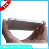 New product 0.5mm or 0.3mm Ultrathin case for apple iphone 5 5S, for iphone case China manufacturer