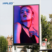 MPLED Manufacturer price Stock P10 outdoor die casting led display screen
