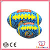 Over 20 years experience new style small kids custom plush blank rugby balls