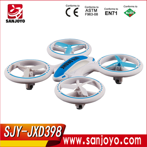 New Arriving! JXD398 UFO 2.4G 4CH Night Flying Quadrocopter RTF RC Drone SJY-JXD398