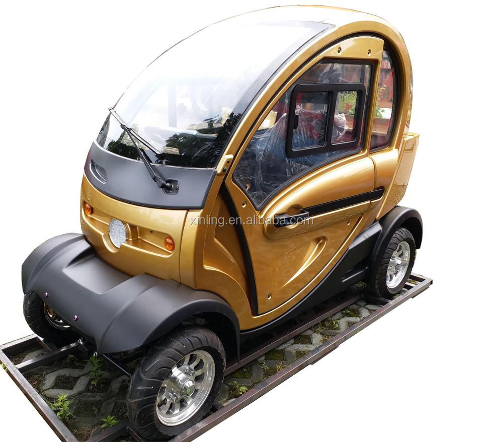All Weather 1200w Electric Cabin Mobility Scooter 4 Wheel