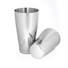 Top quality Stainless Steel bartender Boston cocktail shaker set