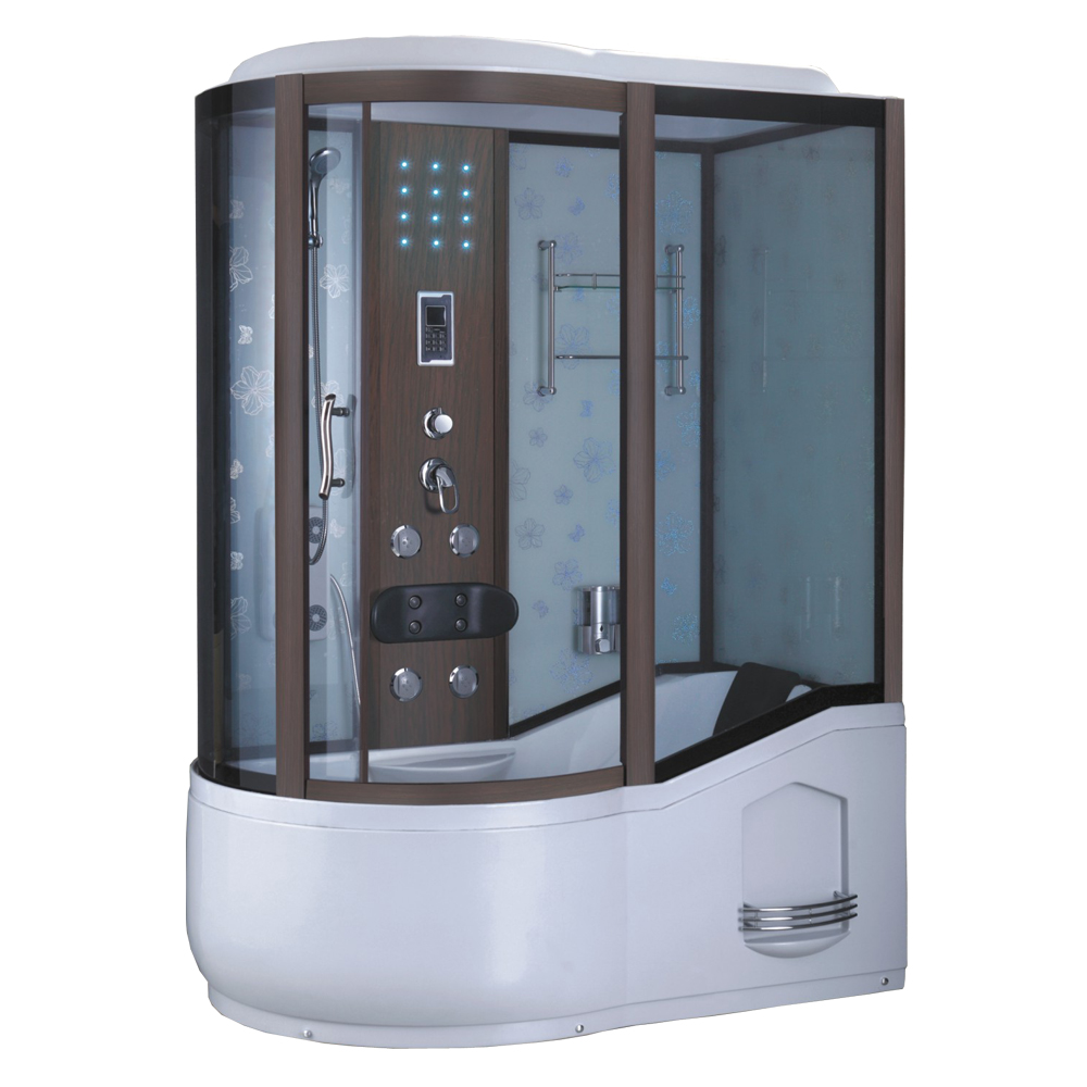 One Piece Bathroom Design Steam Shower
