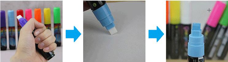fluorescent board markers