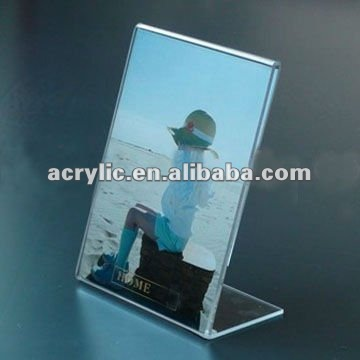 2012 Hot New Clear Acrylic Paper &picture Table Display Stand ...